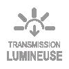 Logo transmission lumineuse