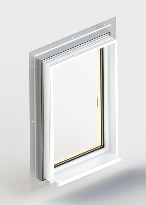Fenêtre EPMi, pose ITE