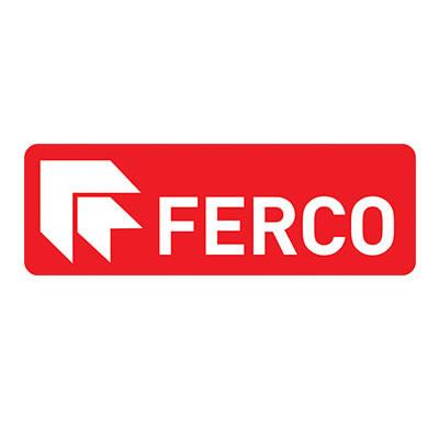 Logo de Ferco, fabricant de quincaillerie pour les fenêtres.
