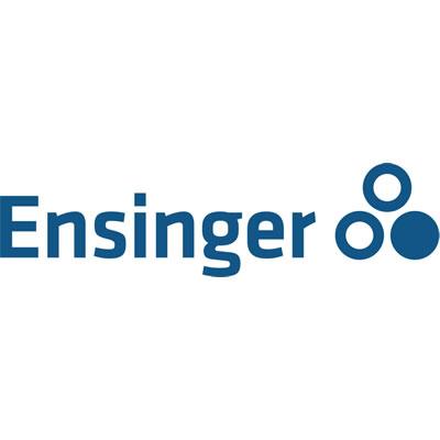 Logo de Ensinger, fabricant de profilés en polyamide.