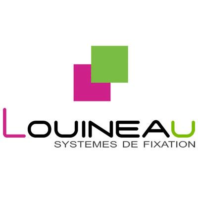 Logo de louineau, fabricant d'équipements pour les fenêtres.